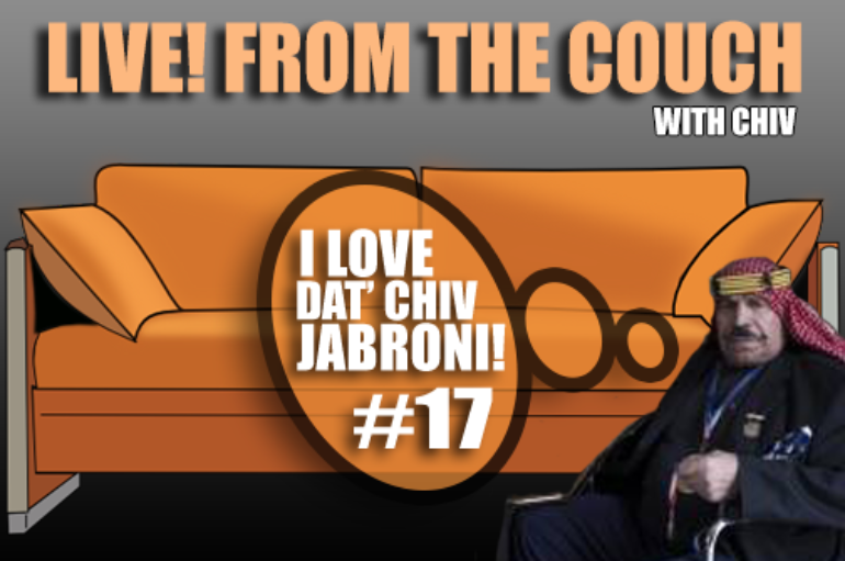Live! From The Couch w/ Chiv – September 22nd, 2017