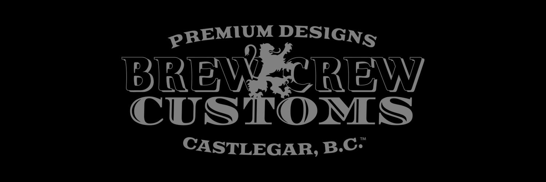 Brew Crew Customs - Main Logo Decal
