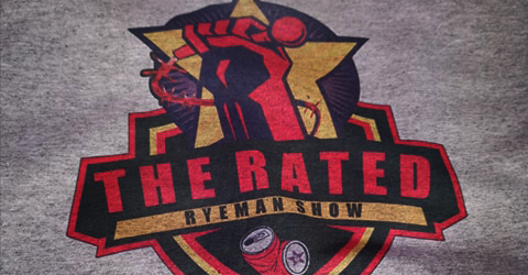Rated RyeMan Show Logo Tee
