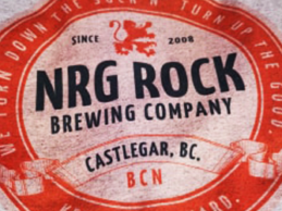 NRG Rock Brewing Co. Tee