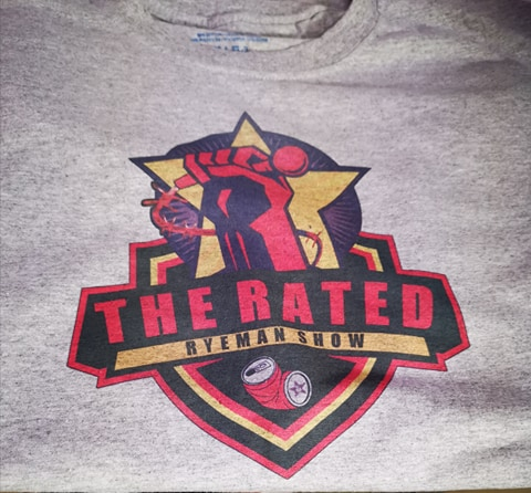 The Rated RyeMan Show Logo Tee