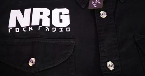 """The """"NRG Rocker Original"""" Cut-Off Work Shirt"""