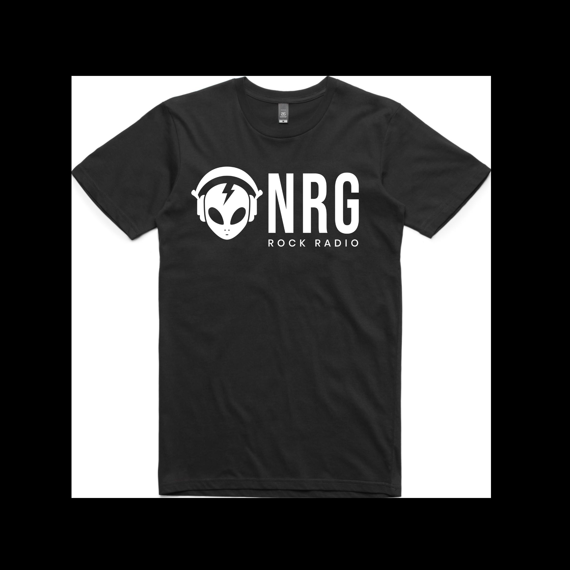 NRG Rock Radio Full - Logo Tee